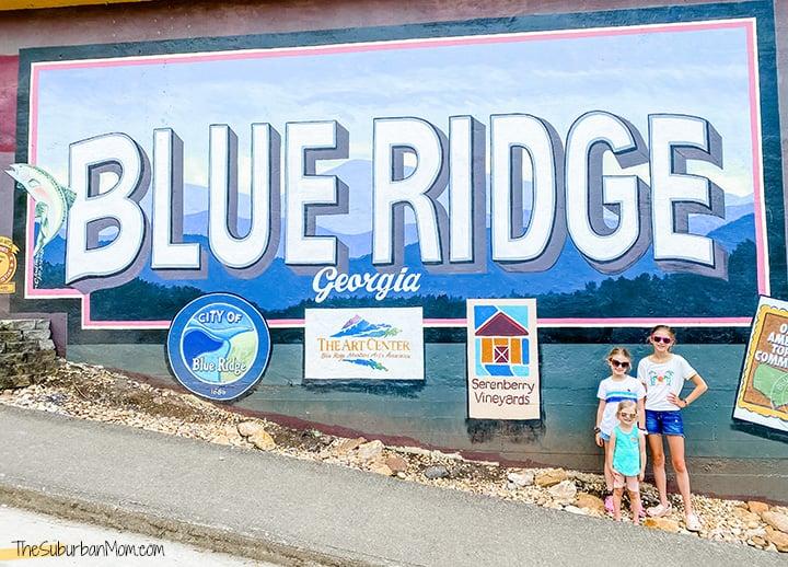 Blue Ridge Georgia Mural