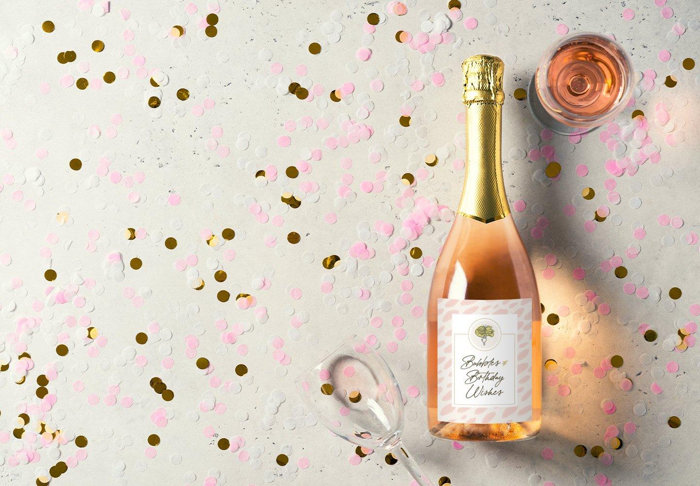 Free Printable Birthday Wine Bottle Labels Plus Wine Pairings