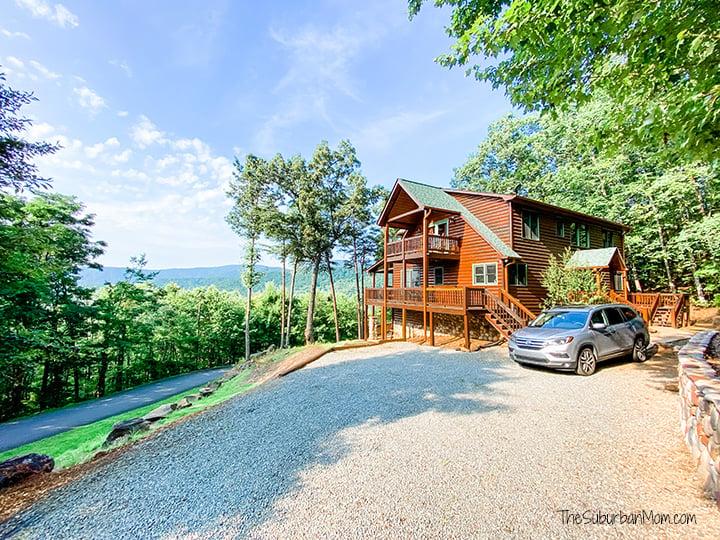 Rental Cabin Blue Ridge Georgia