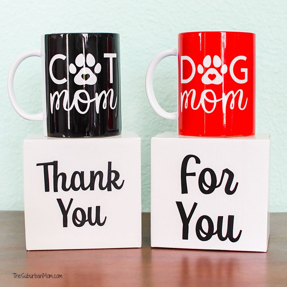 DIY Dog Mom Mug Tutorial