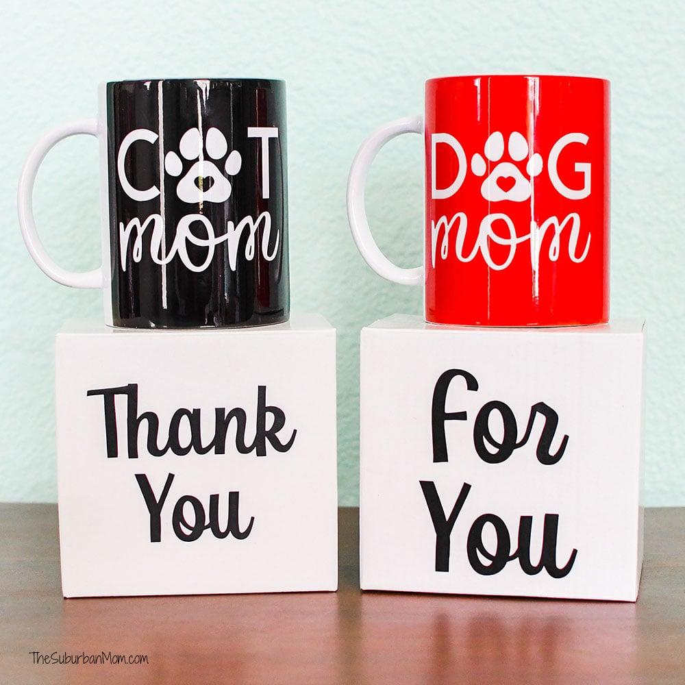 DIY Dog Mom Mug Tutorial