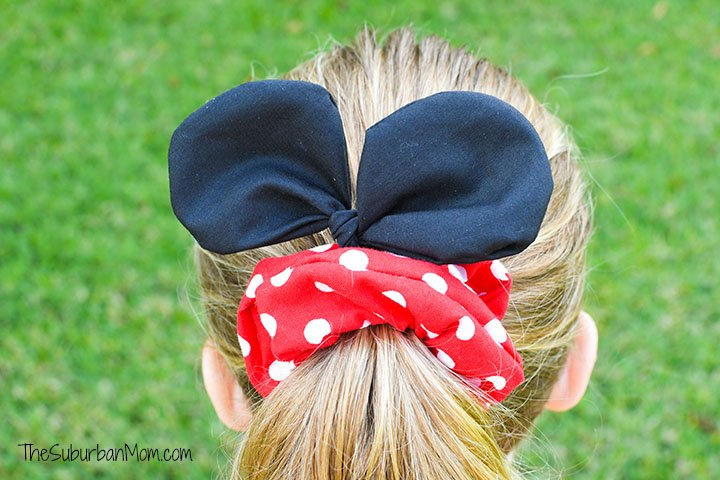 DIY Minnie Mouse Scrunchie Pattern