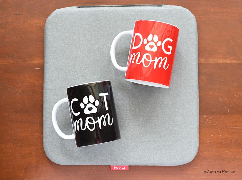 Dog Mom Cat Mom Mug