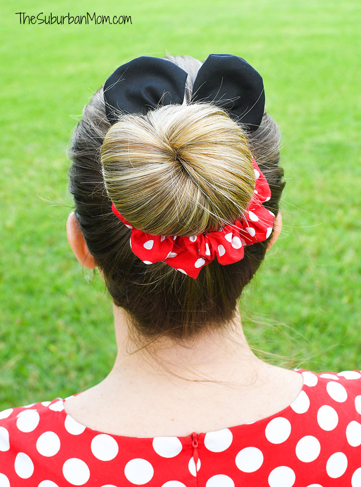 How To Make Minnie Mouse Scrunchie Cricut