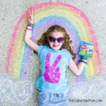 Peace Rainbow Girl