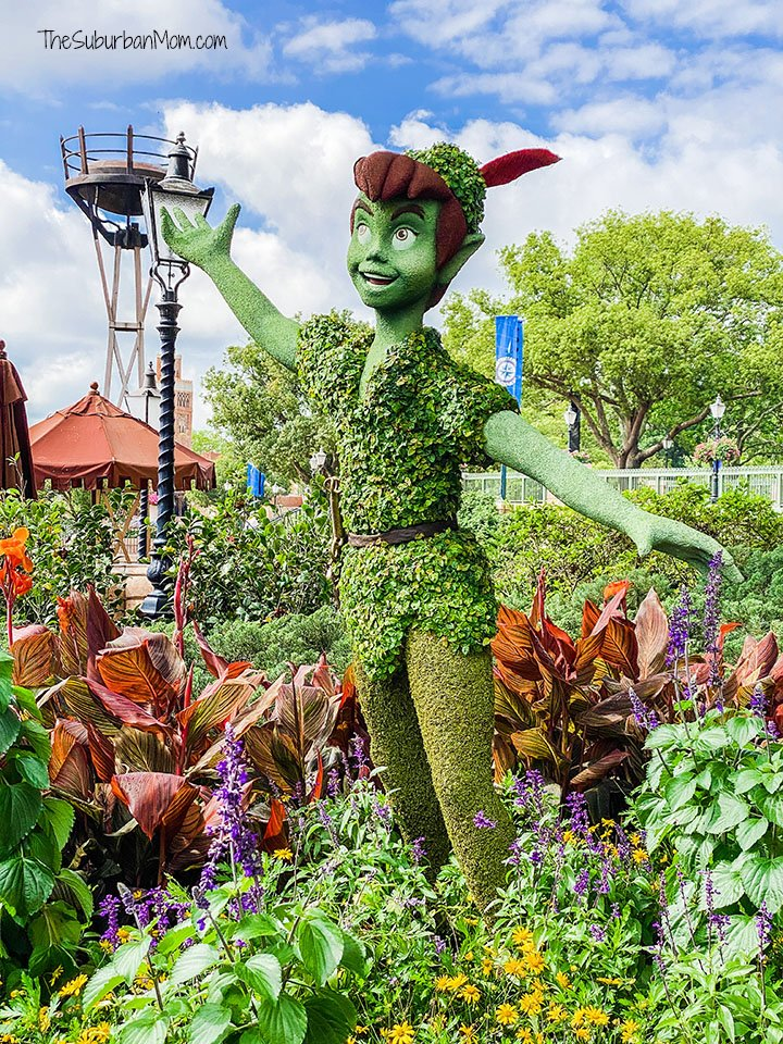 Peter Pan Topiary Flower and Garden Festival