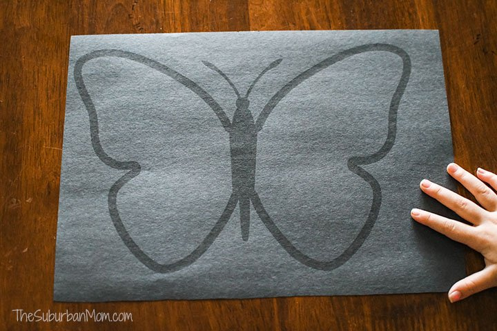 Butterfly Suncatcher Template Free Printable