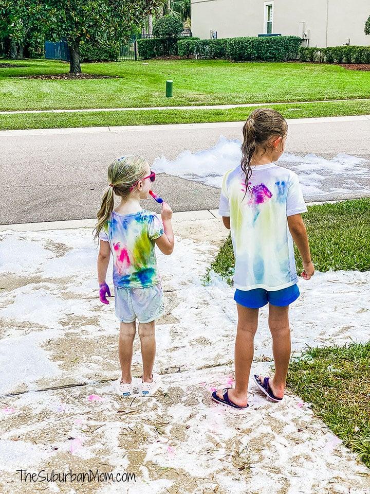 Bubble Truck Color Party Review