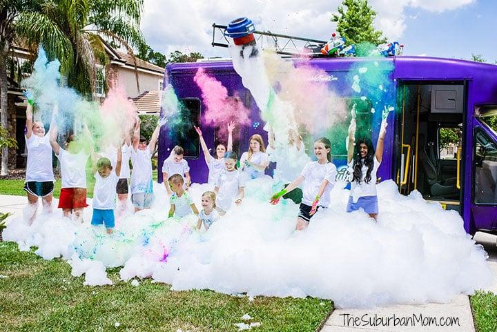 Bubble Truck Color Party