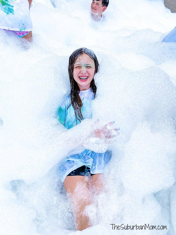 Foam Bubble Party Truck