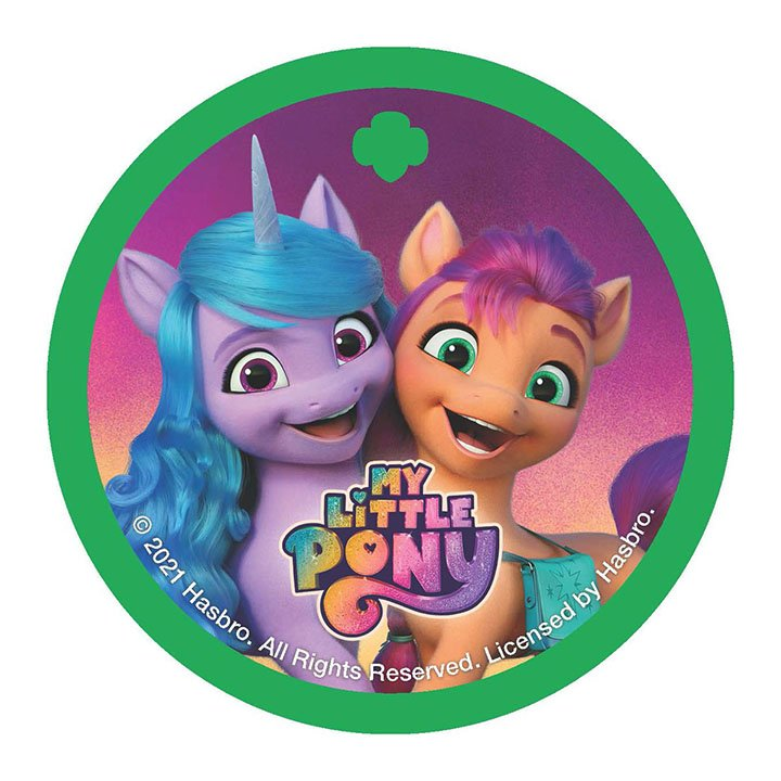 Girl Scouts My Little Pony Patch