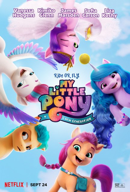 My Little Pony A New Generation Movie Poster