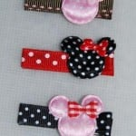 How to Make Minnie Mouse Hair Bows