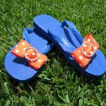 Gators Fancy Flops are now for sale on Etsy!
