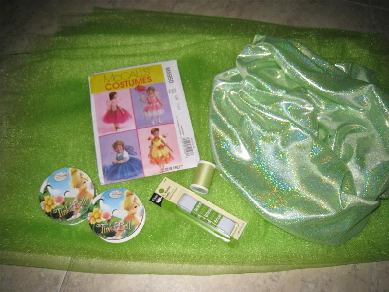 Tinkerbell Supplies